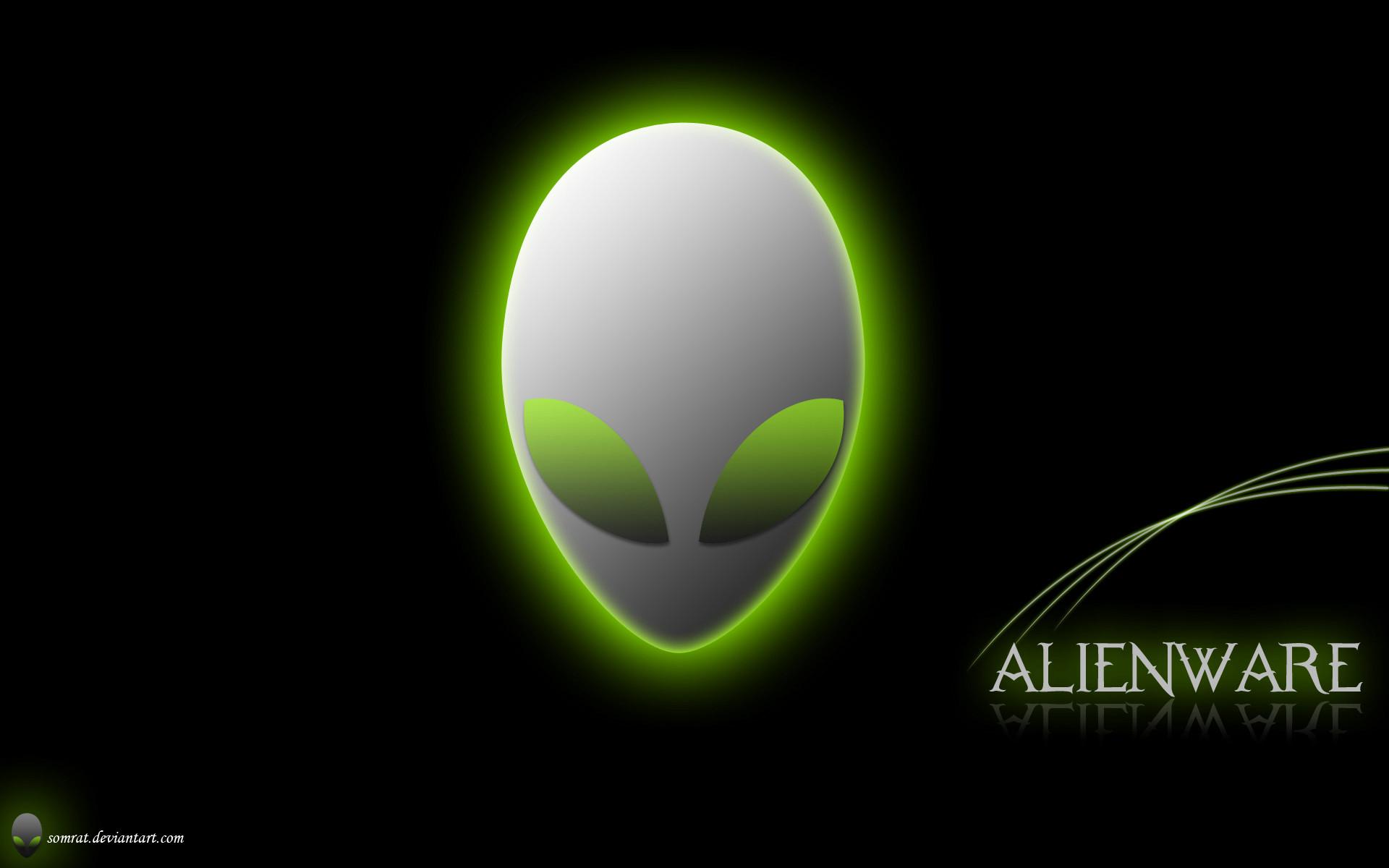Green Alienware Wallpapers 1920x1200