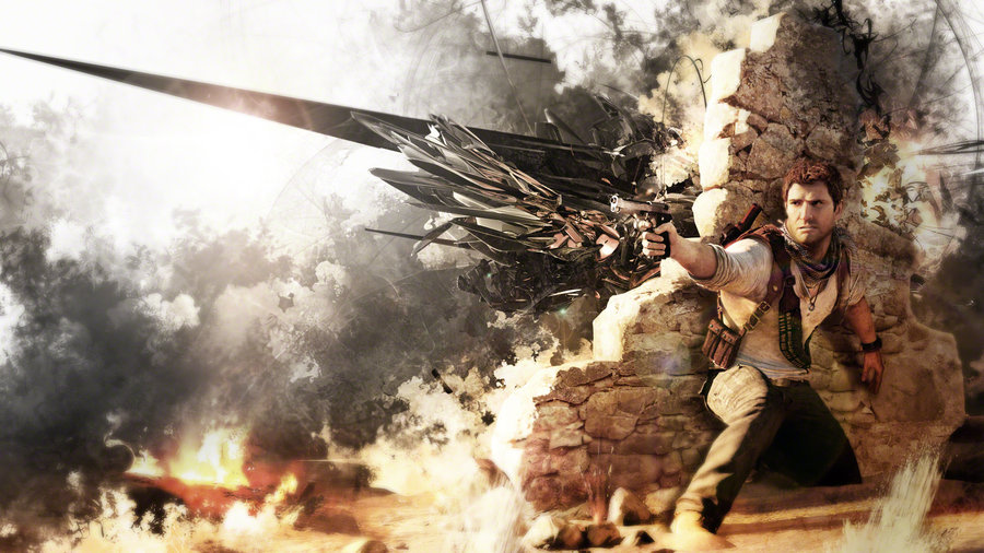 Uncharted 3   Drake Wallpaper by TheSyanArt 900x506