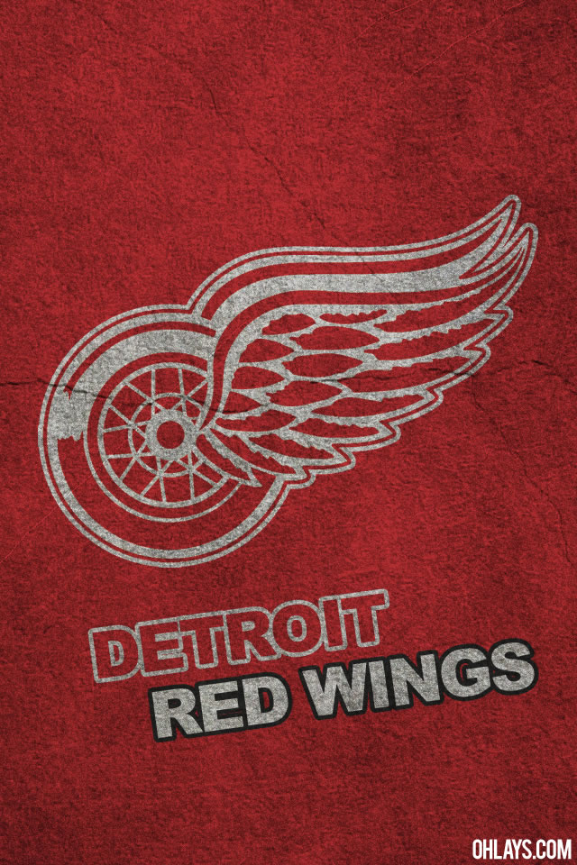 Detroit Red Wings iPhone Wallpaper 410 ohLays 640x960