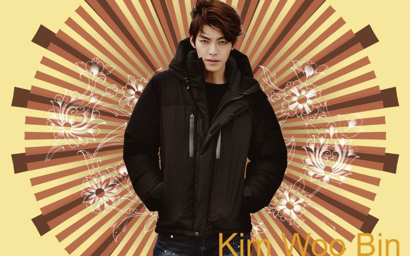 Kim Woo Bin Wallpaper by edinaholmes 800x500