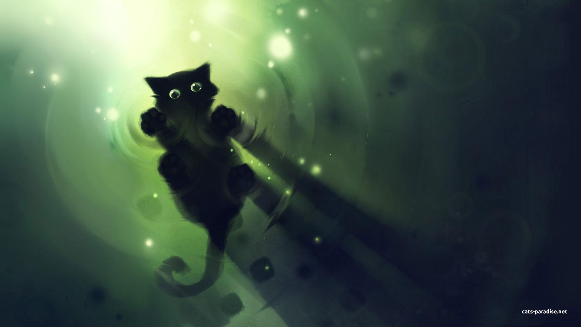 43+ Cute Black Cat Wallpaper on WallpaperSafari