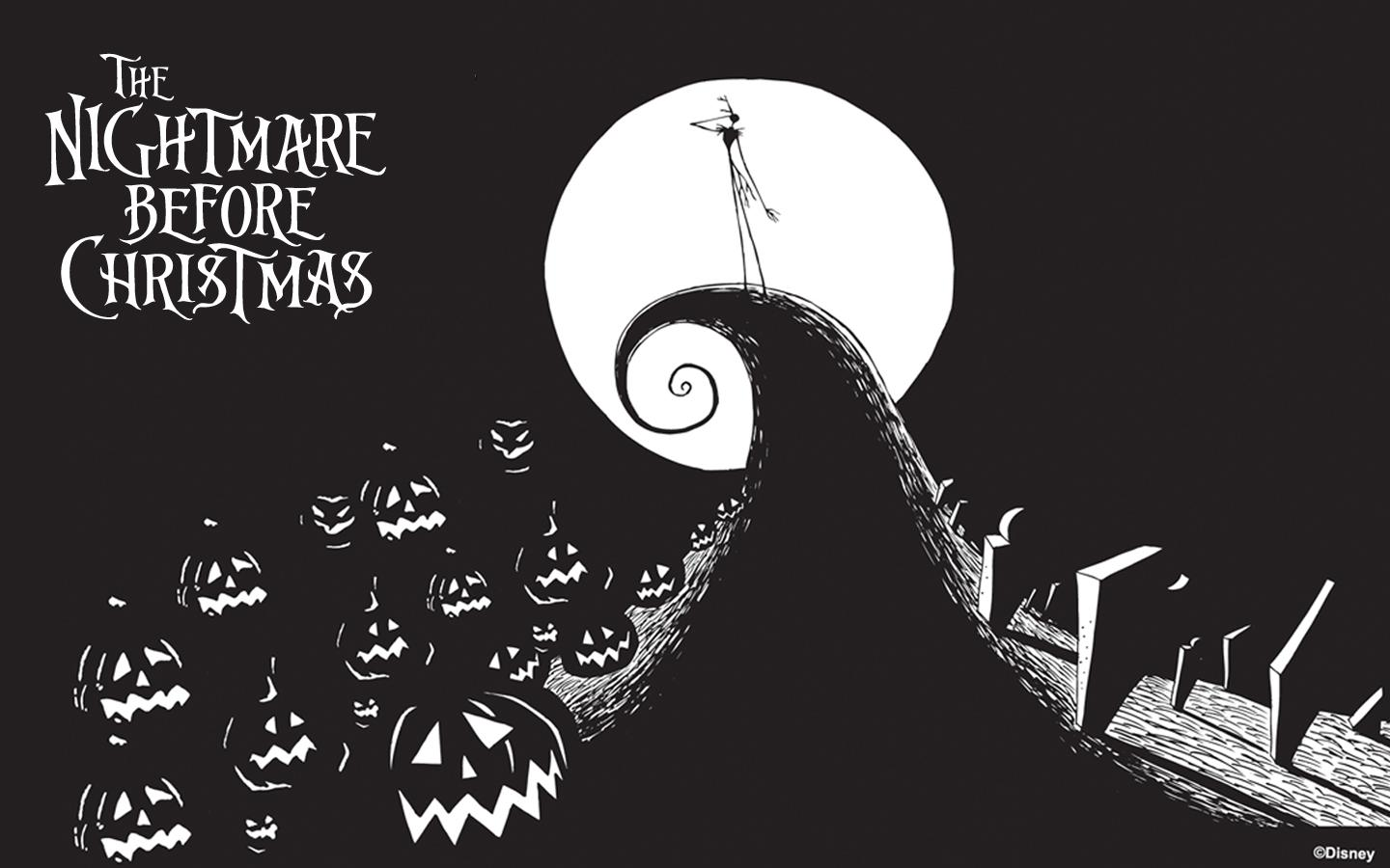 nightmare before christmas wallpaper desktop   wwwwallpapers in hd 1440x900