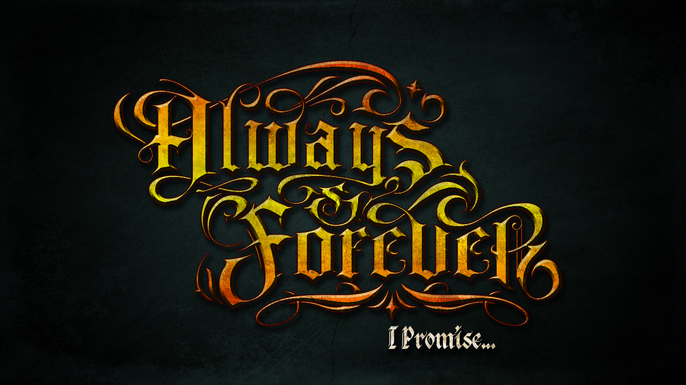always and forever wallpaper by Shaddo angel 1366x768