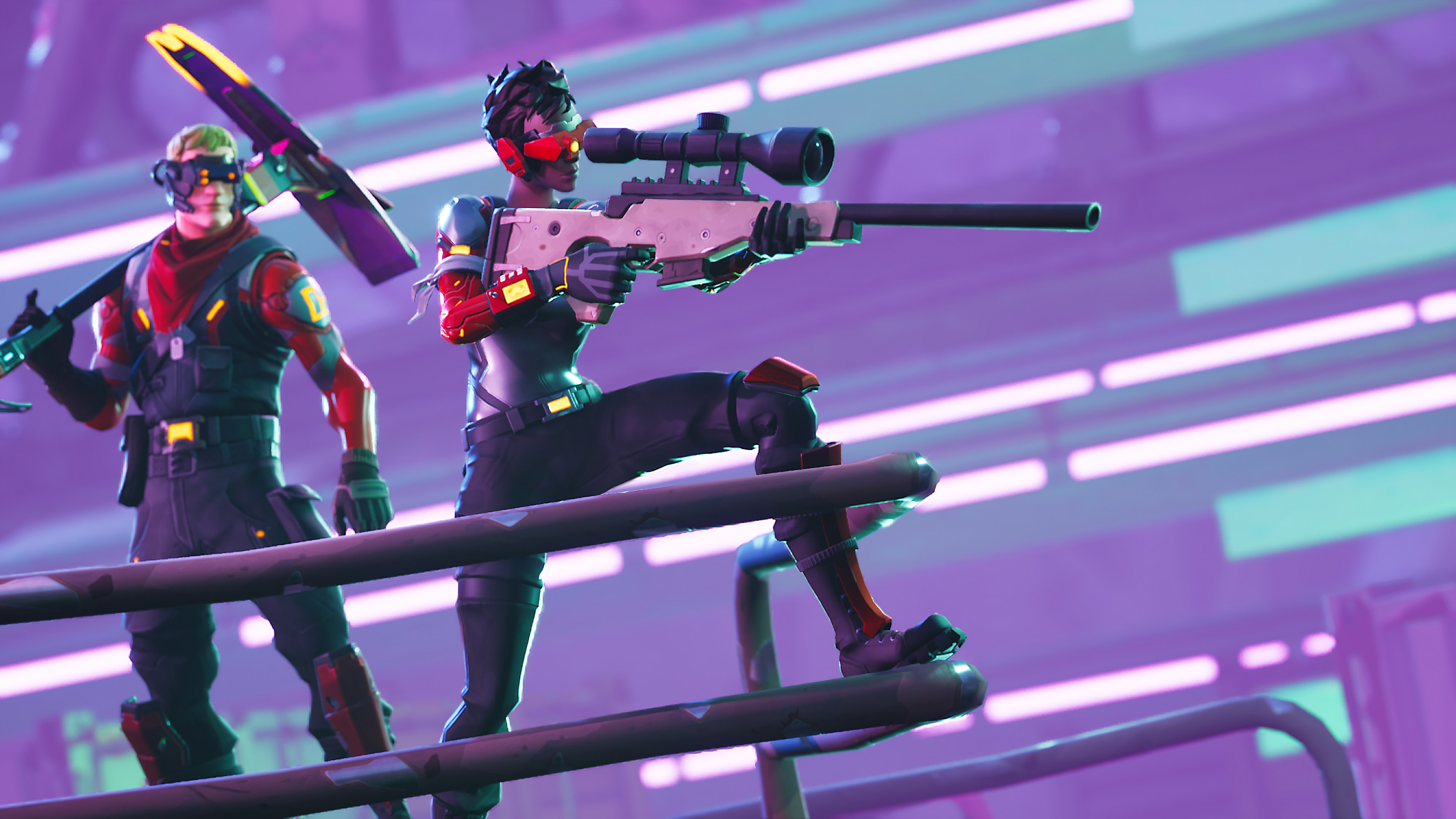 Circuit Breaker 4K 8K HD Fortnite Battle Royale Wallpaper 3840x2160