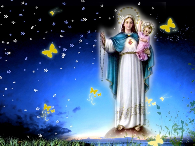 Mexican Virgin Mary Wallpapers