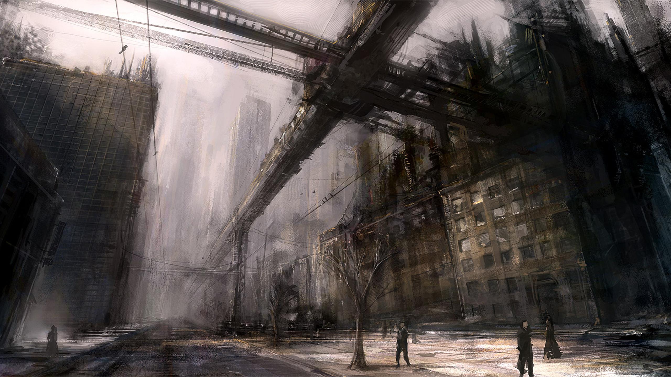Best 60 Dystopia Wallpaper on HipWallpaper Dystopia Wallpaper 2560x1440