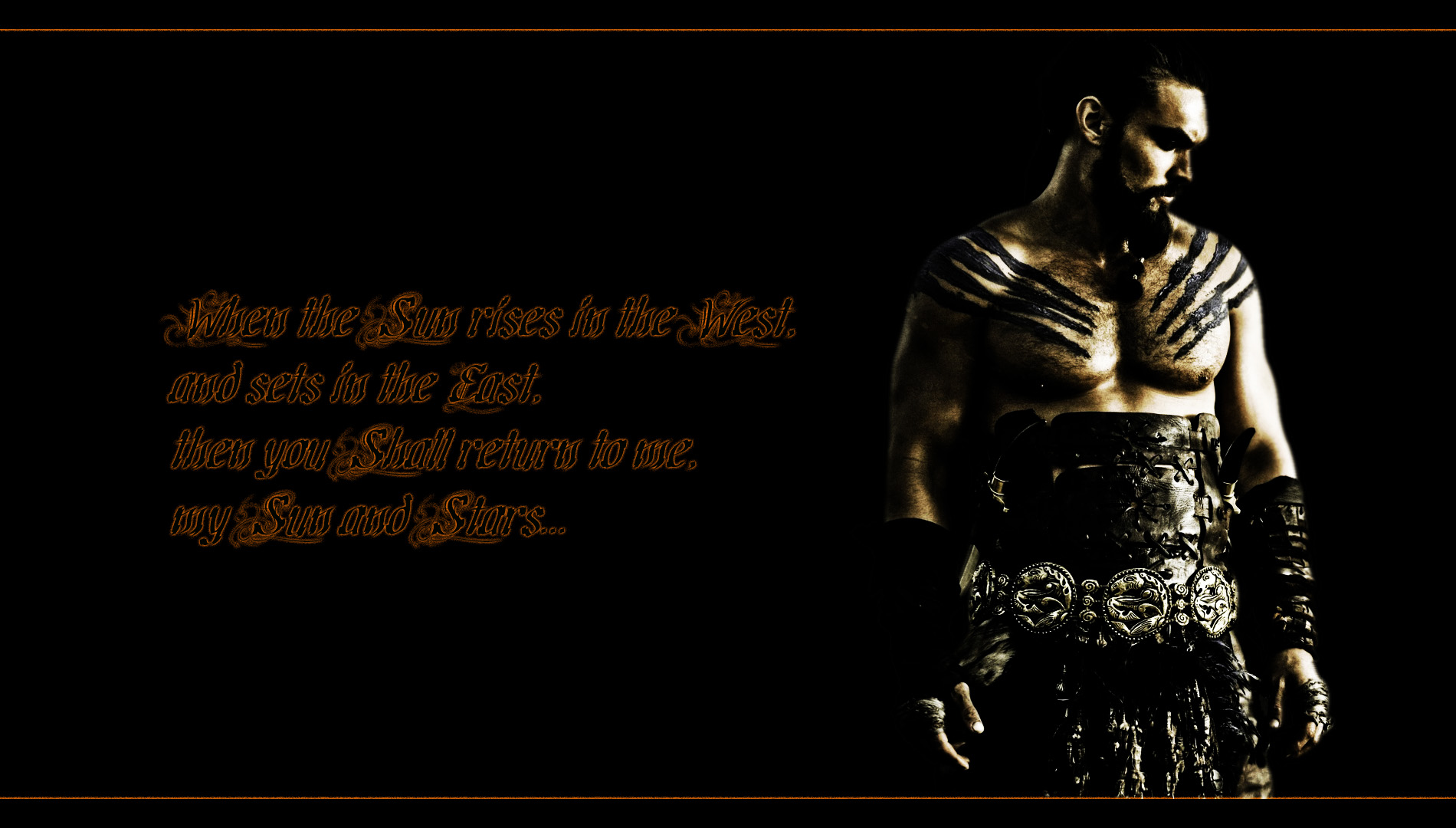 game of thrones drogo quote high resolution wallpaper HD wallpaper 1900x1080
