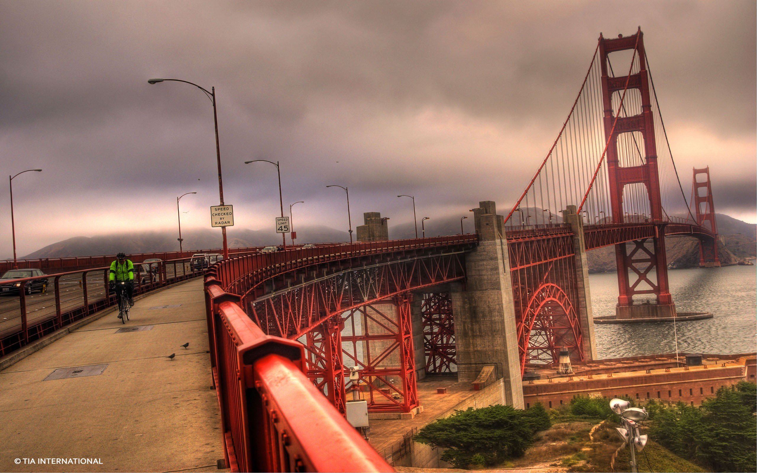 Download San Francisco Wallpapers The Golden Area Through The 2560x1600