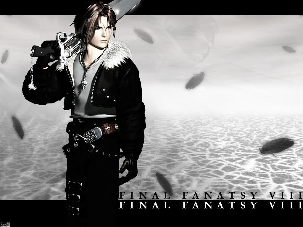 Final Fantasy Viii Squall Leonhart New Hd Wallpaper retrodragon 1024x768