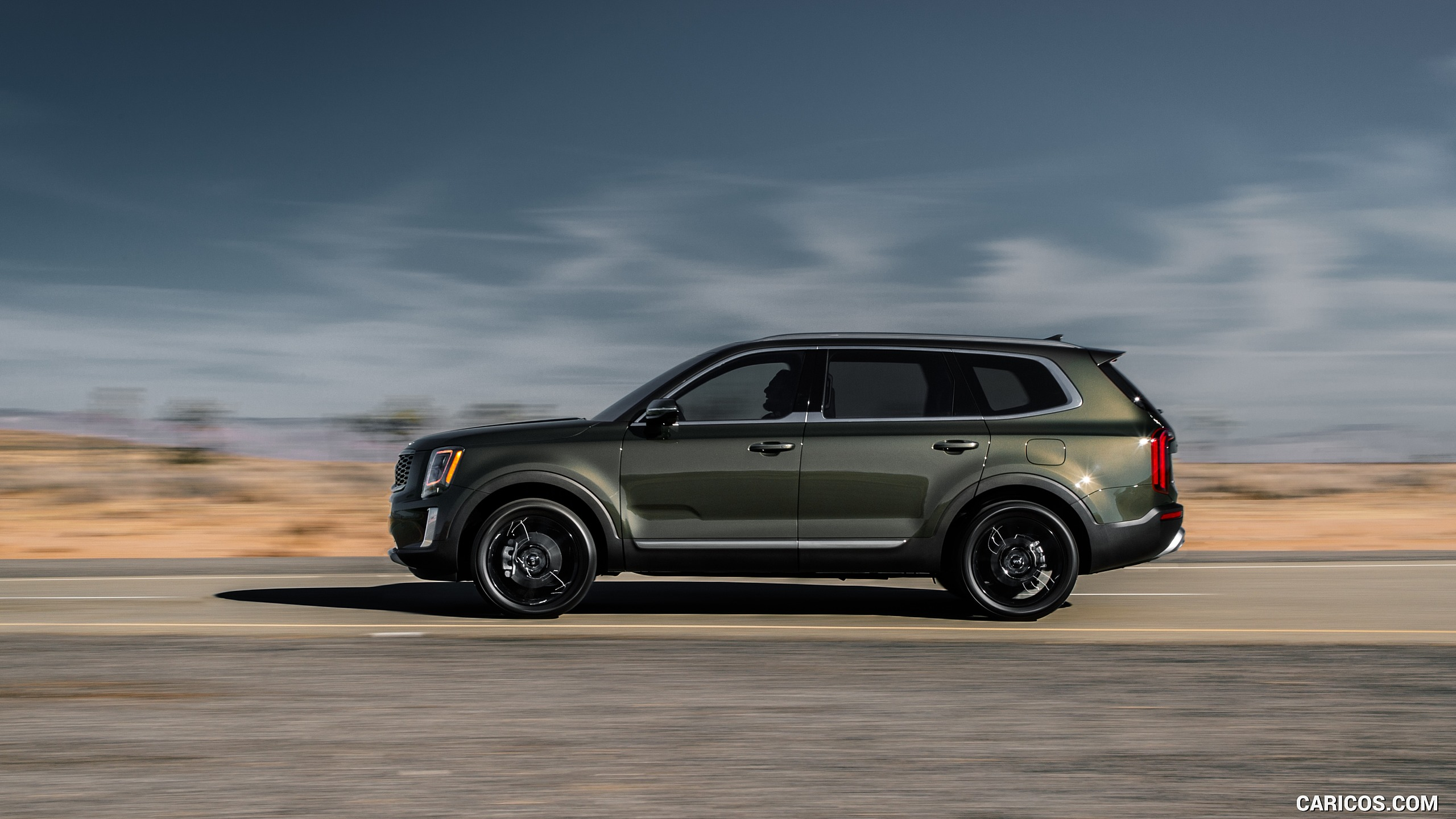 2020 Kia Telluride   Side HD Wallpaper 4 2560x1440