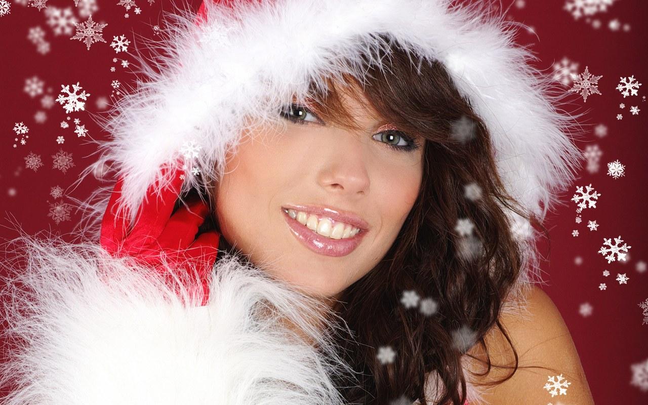 Christmas Girls wallpaper   Desktop Wallpaper 1280x800