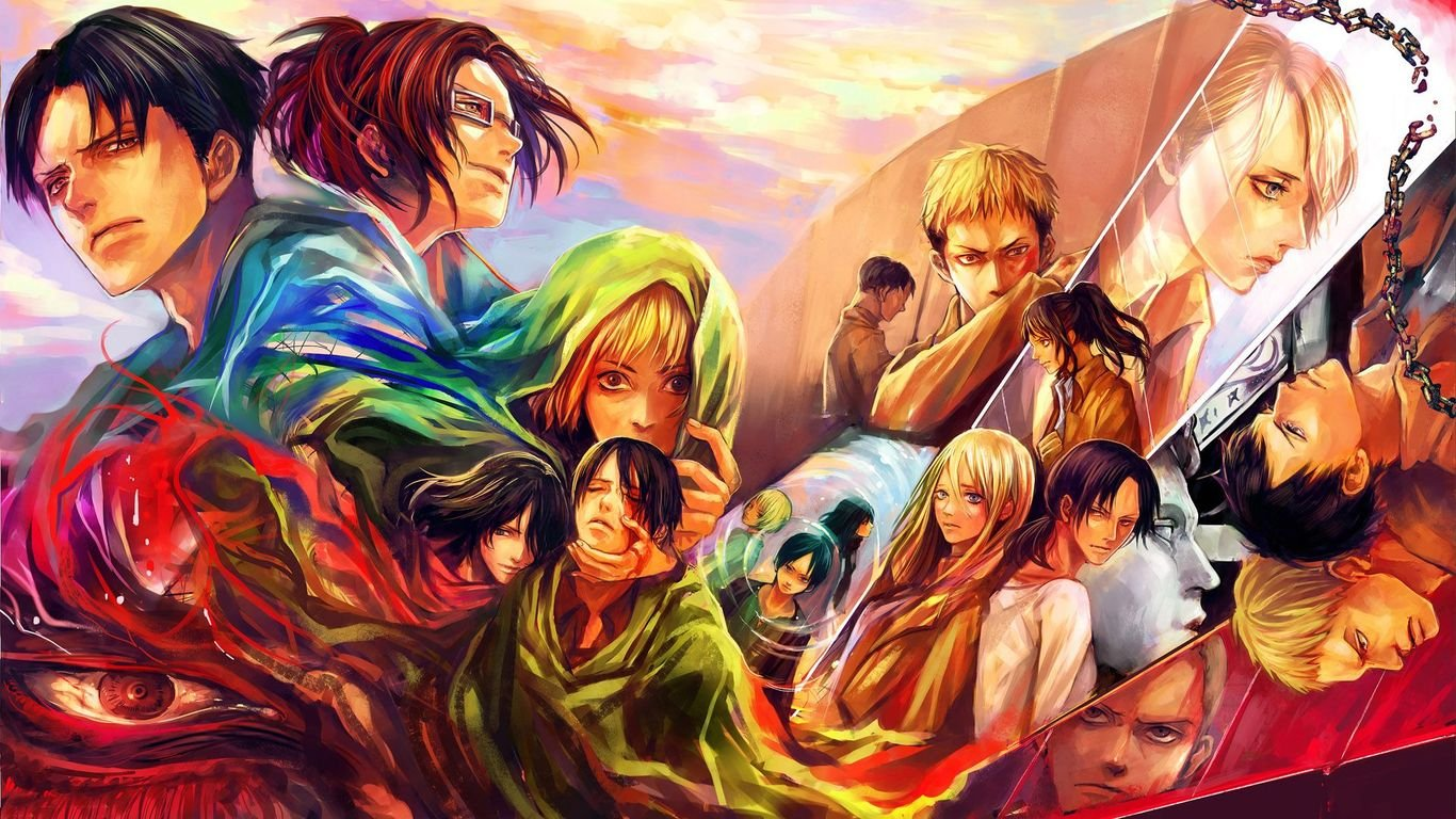 Attack On Titan Wallpaper 1366x768