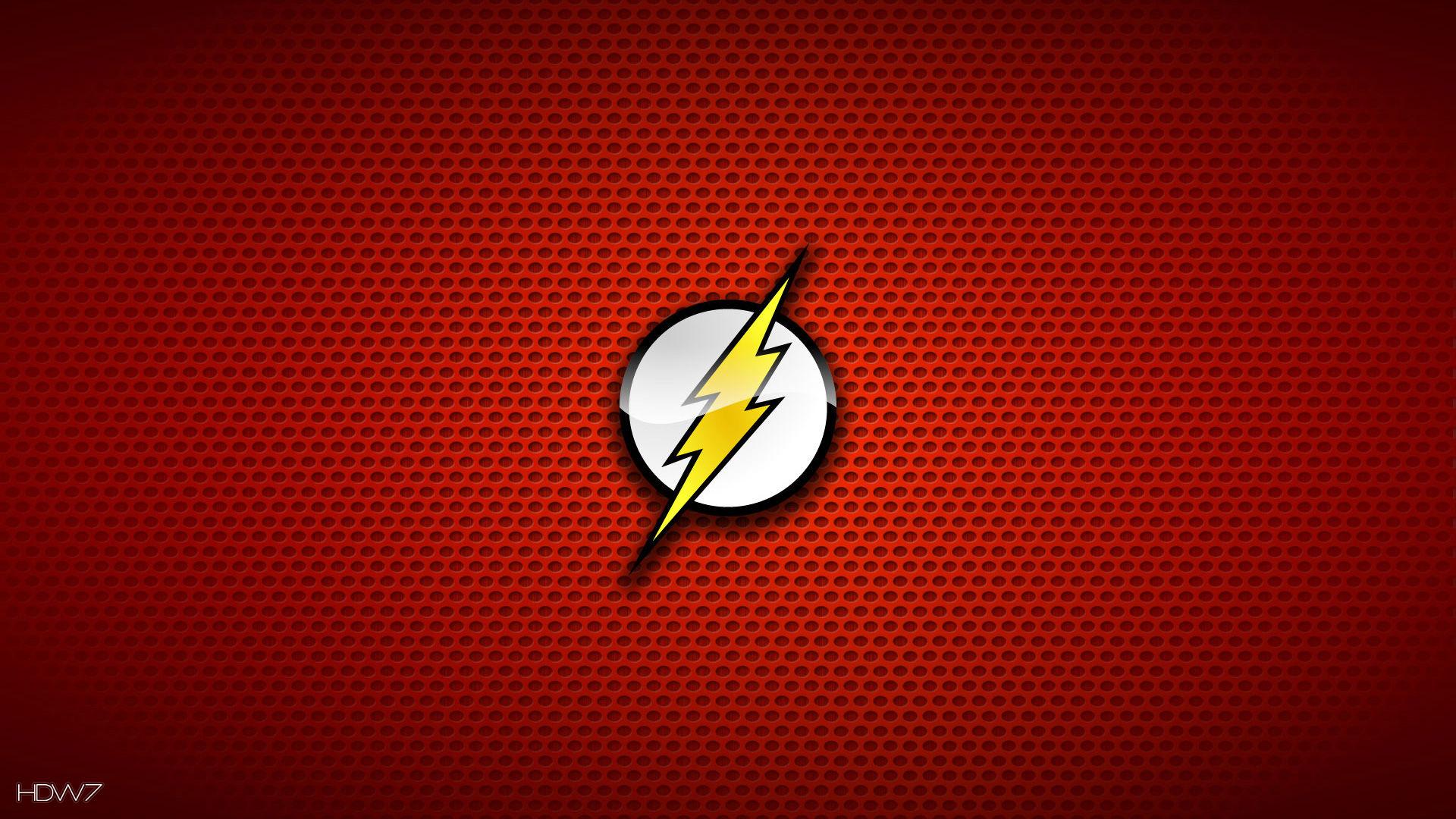 The Flash Logo Wallpaper Wallpapersafari
