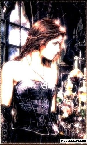 Wiccan Girl Live Wallpaper Samsung Galaxy S3 App download 300x500