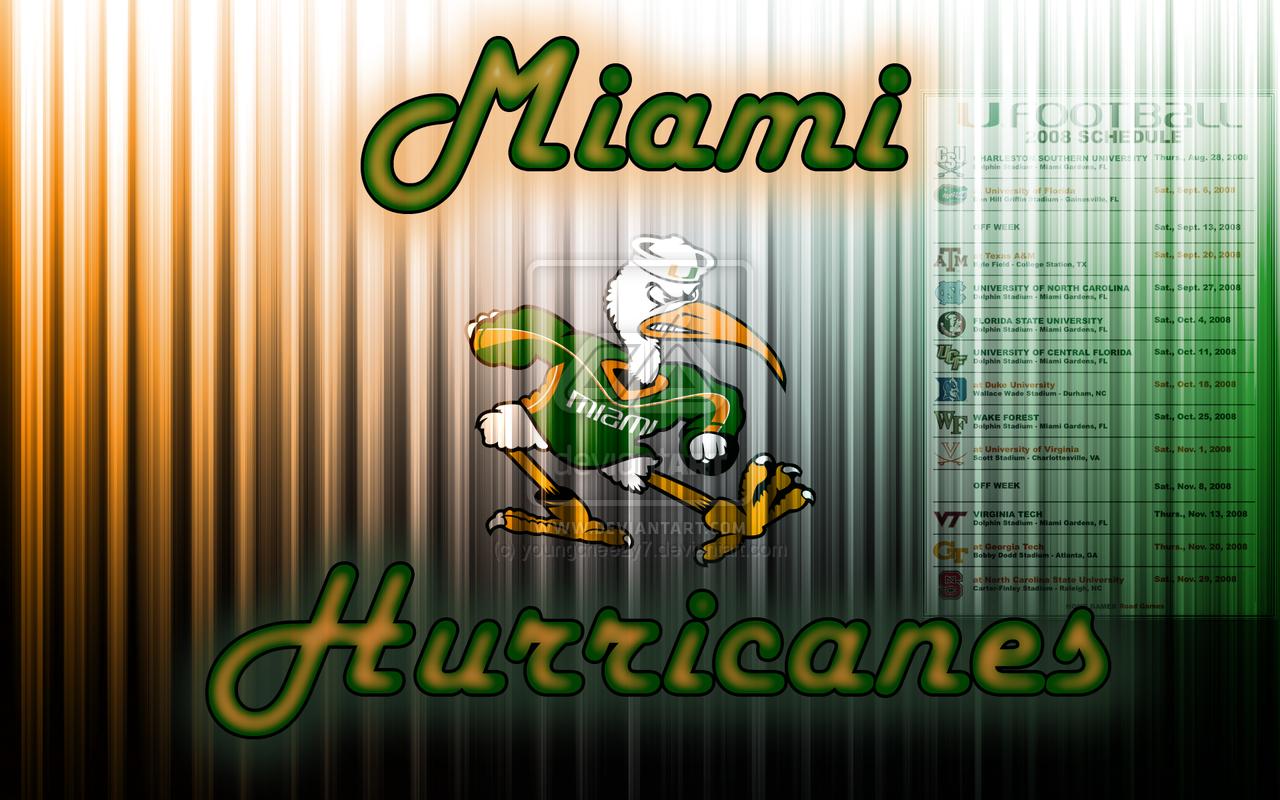Miami Hurricanes Wallpaper hd hd Wallpapers Miami Hurricanes 1280x800