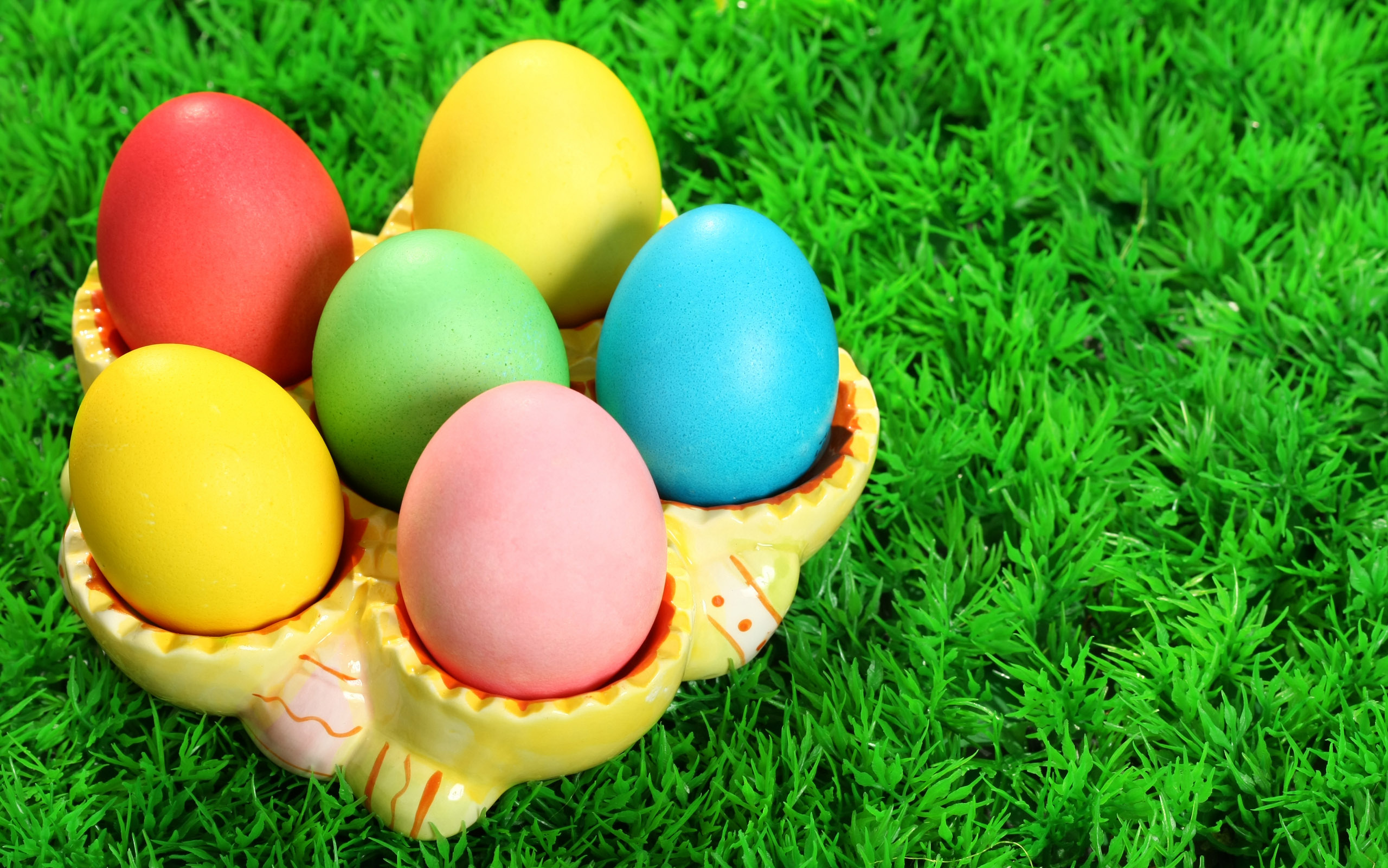 Colorful Easter Day Eggs wallpaper Wallpapers   HD 2560x1600