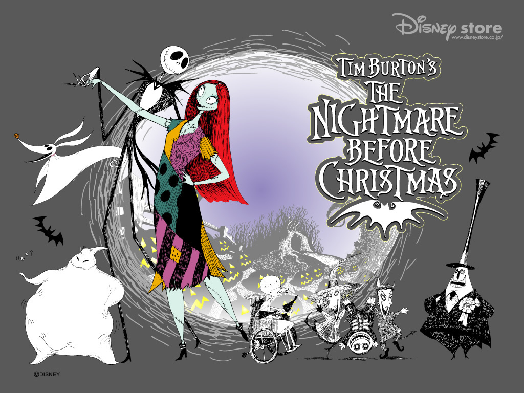 Nightmare Before Christmas Wallpaper nightmare before christmas 1024x768