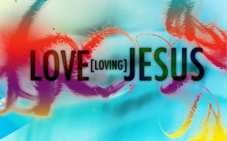 love jesus 1440x900