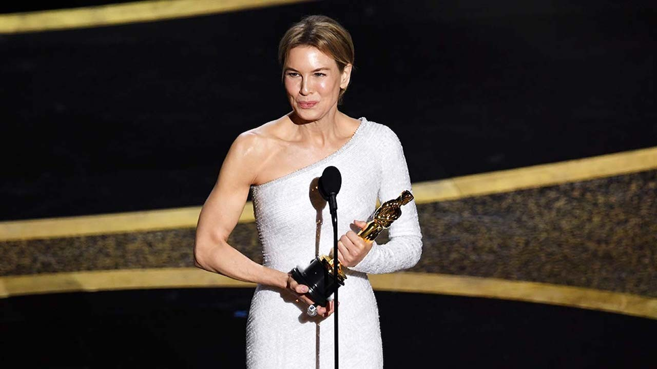 Oscars Renee Zellweger Wins Best Actress Dedicates Award to Judy 1280x720