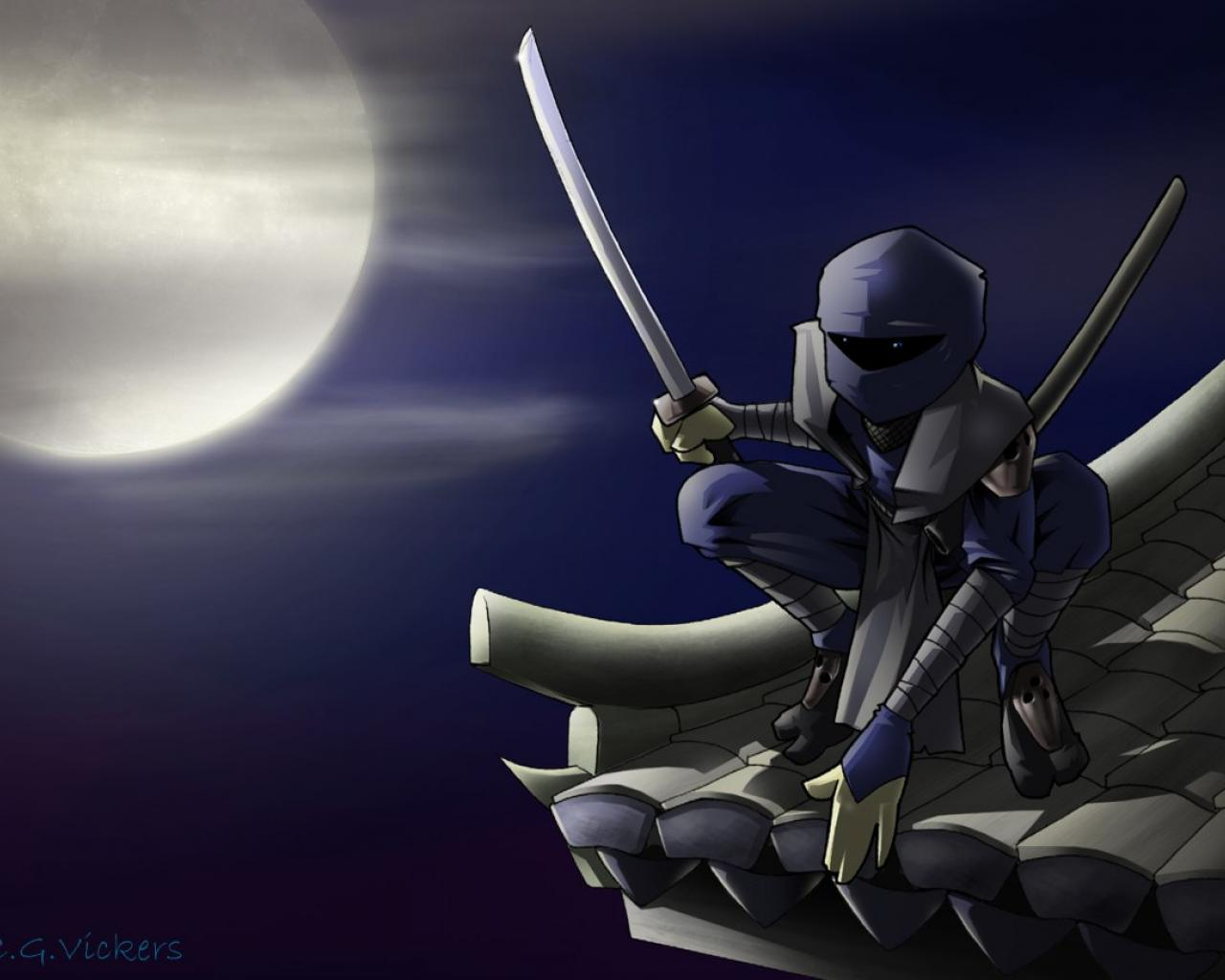 Anime ninja wallpaper wallpapersafari - Ninja anime wallpaper ...
