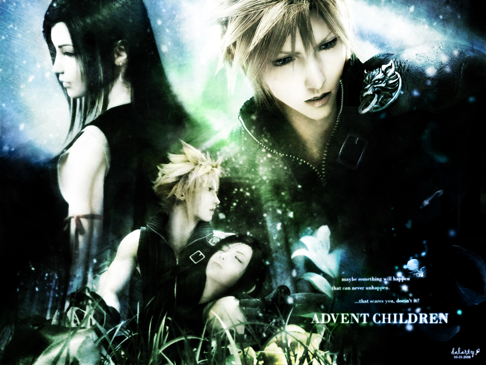 Final Fantasy Vii Anime Wallpaper 1600x1200 Full HD Wallpapers 1600x1200