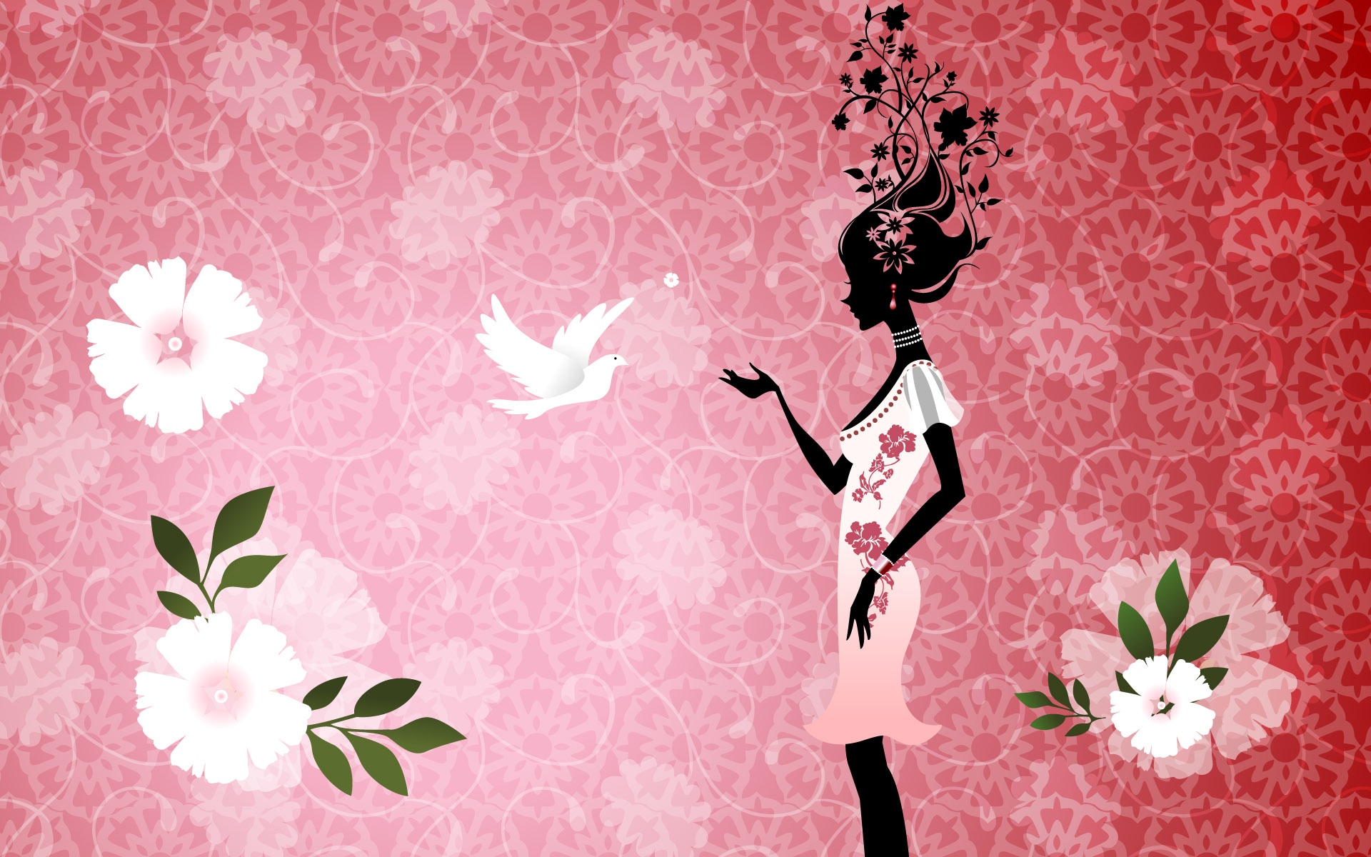 Girly Backgrounds for Desktop HD wallpaper background 1920x1200