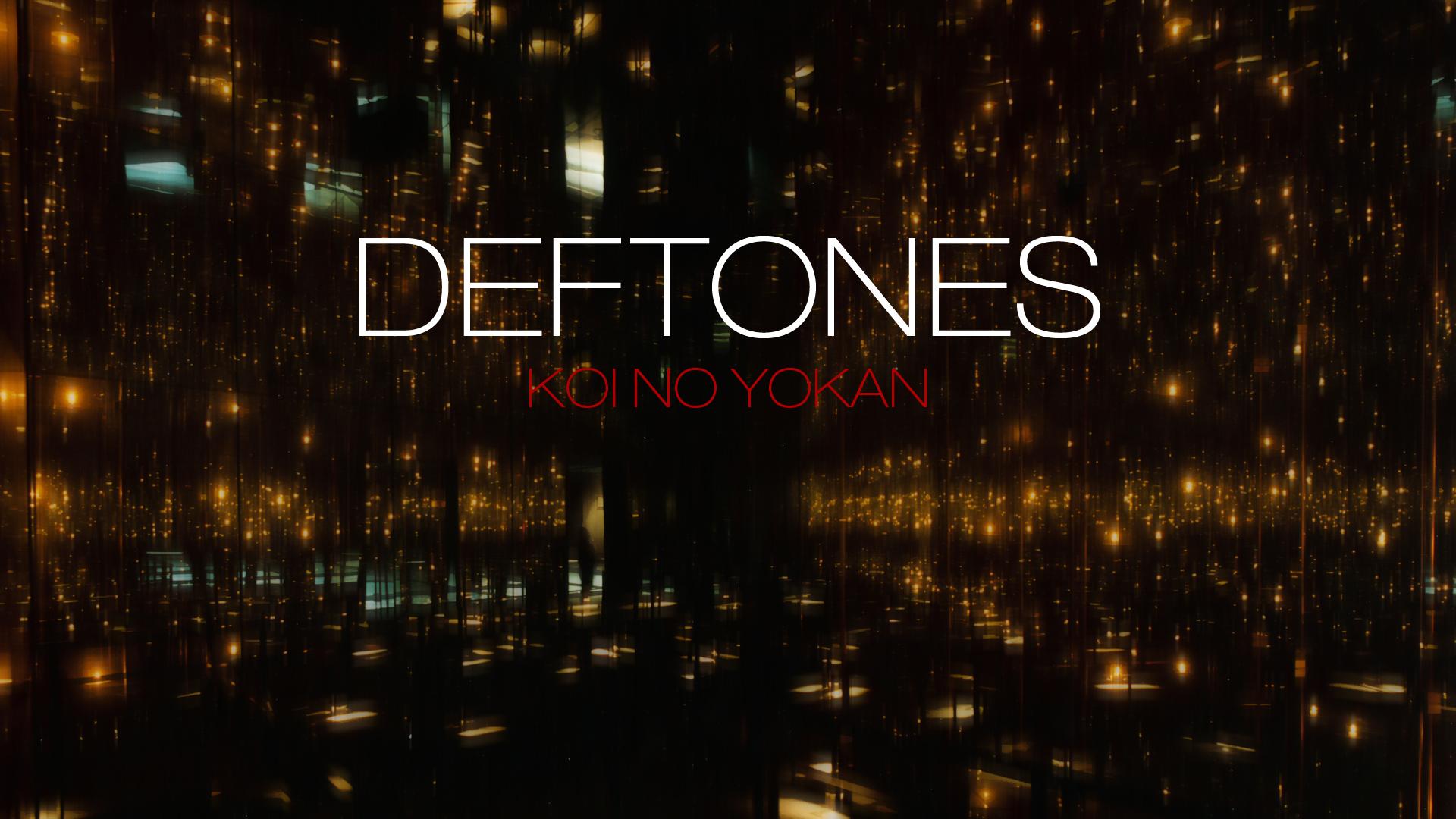 Deftones wallpaper wallpapersafari for Koi no yokan