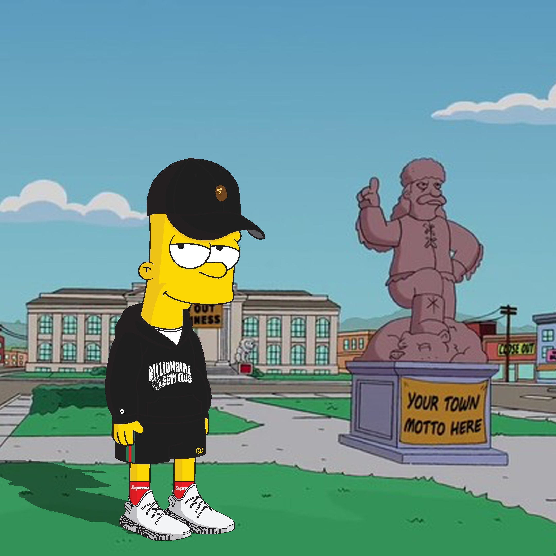 Hypebeast Bart Simpson Wallpapers   Top Hypebeast Bart 2160x2160