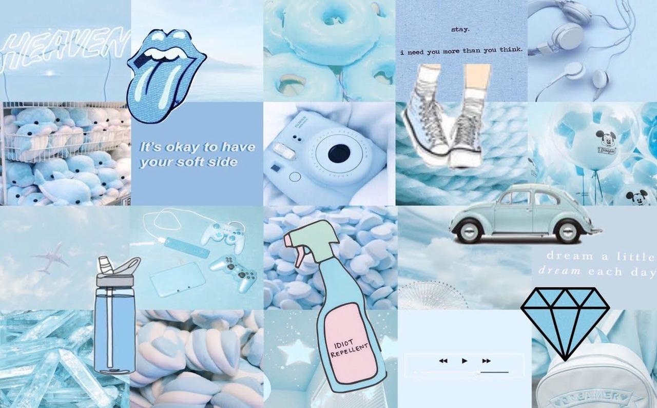 Alatoire A light blue collage i made hope yall like it 1280x795