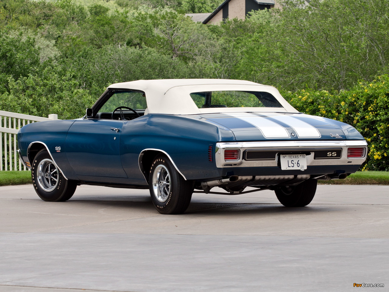 Wallpapers of Chevrolet Chevelle SS 454 LS6 Convertible 1970 1280x960 1280x960
