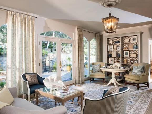 httpwwwhgtvcomliving rooms20 mantel and bookshelf decorating 578x433