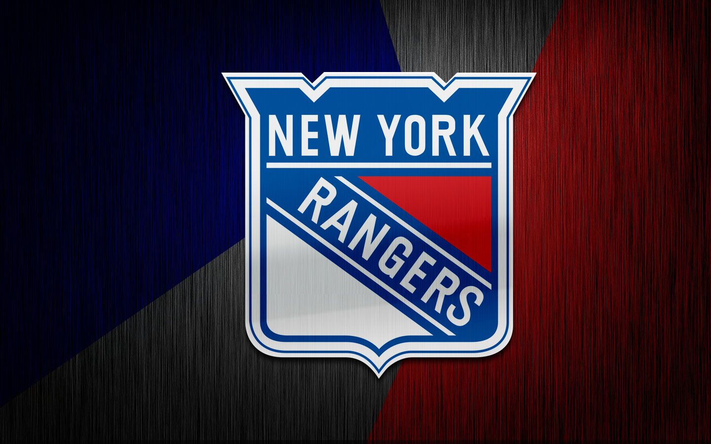 New York Rangers Logo Download IPhoneiPod TouchAndroid 1440x900