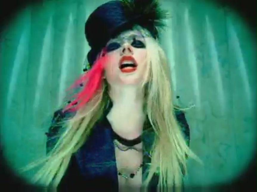 Avril Lavigne images Hot [Music Video] HD wallpaper and background 862x646