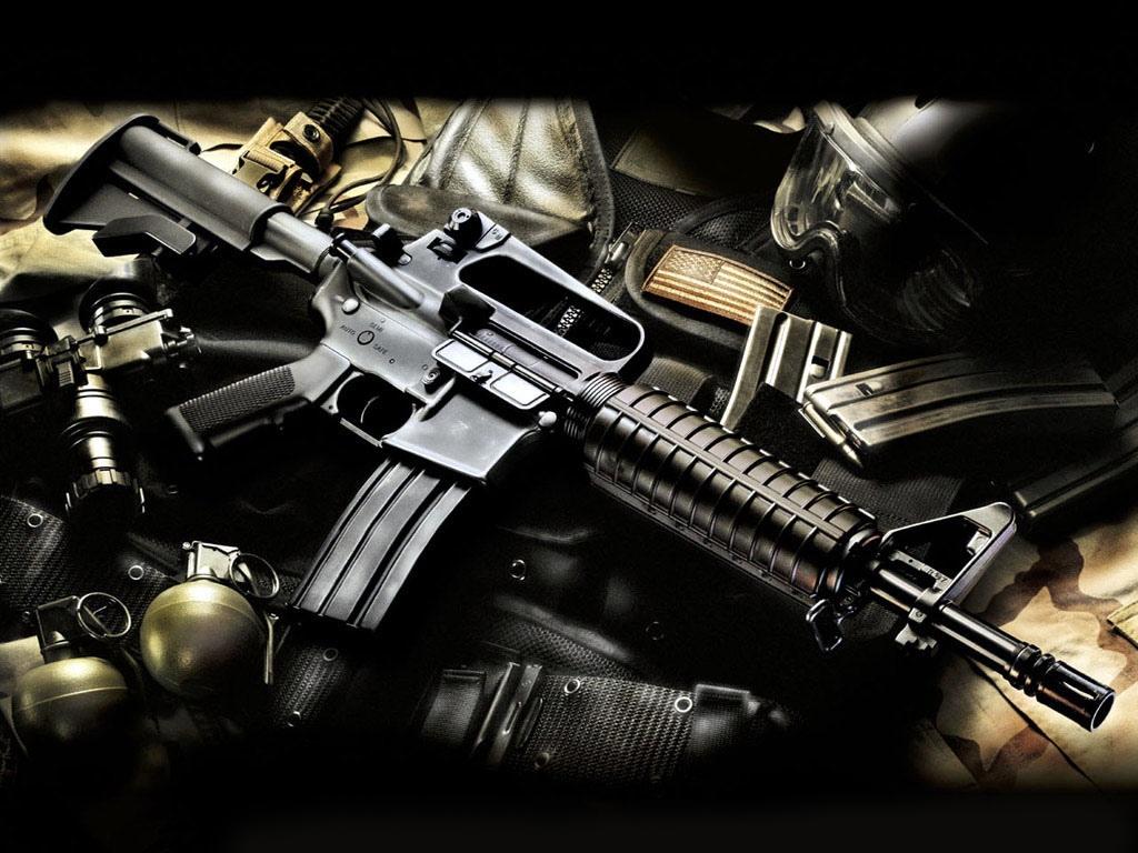 wallpaper wallpaper guns 1024x768