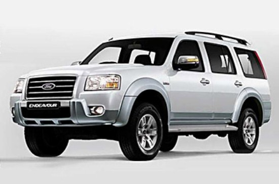 Ford Endeavour Hurricane Limited Edition 2013 Wallpaper 550x364