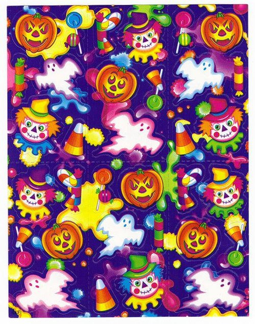 feedyourh3add Lisa Frank stickers the only Lisa Frank Party 500x636