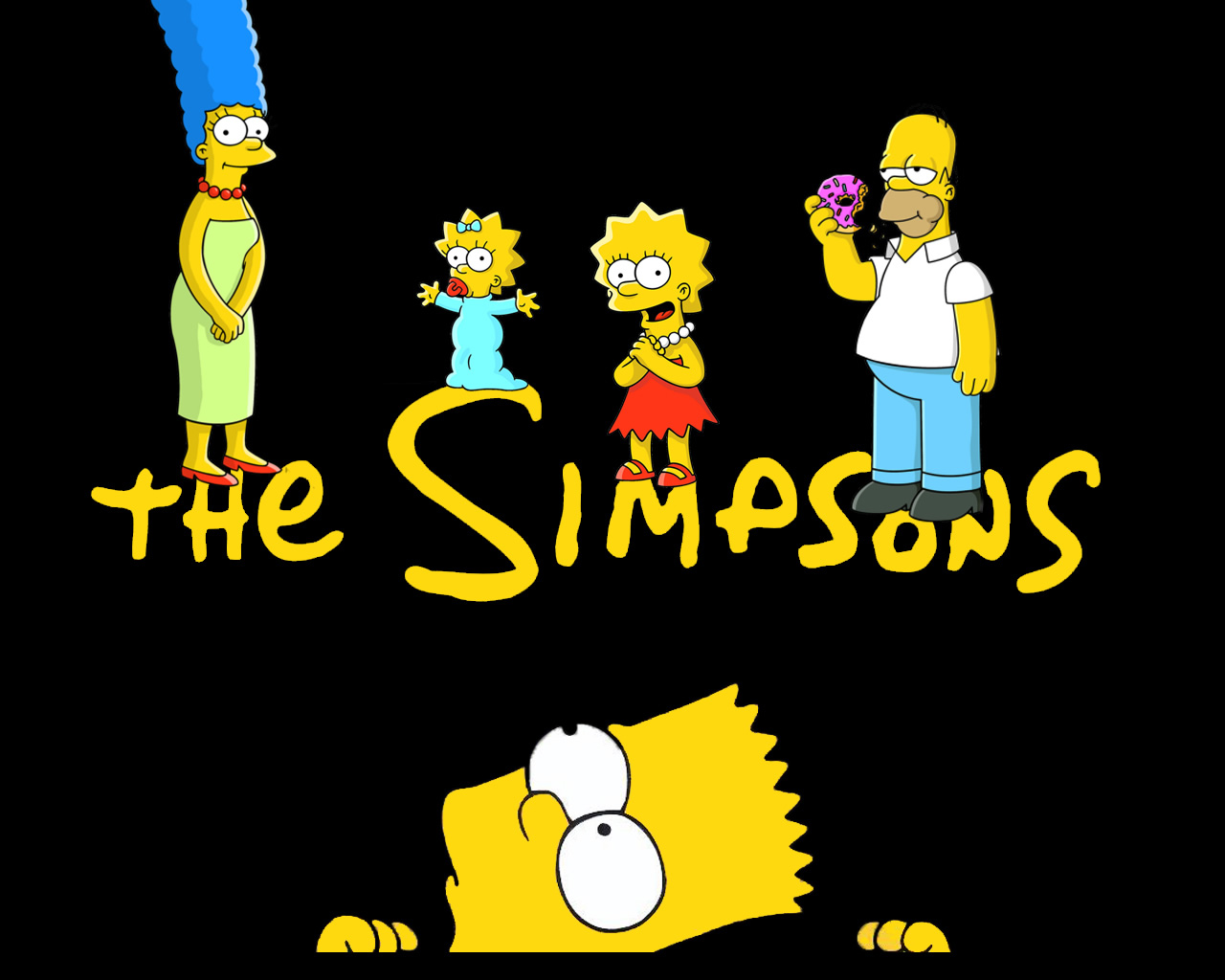 Simpsons Family Simpson Wallpaper Download The The 1280x1024