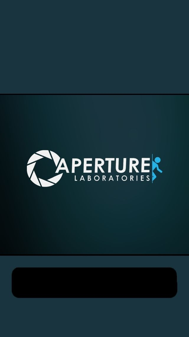 Aperture Labs Portal Mobile Phone Wallpapers Pinterest 640x1136