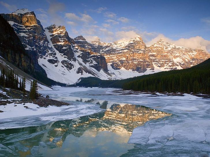Alberta Winter Windows Full Screen Wallpaper Wallpaper Nature 100187 728x546