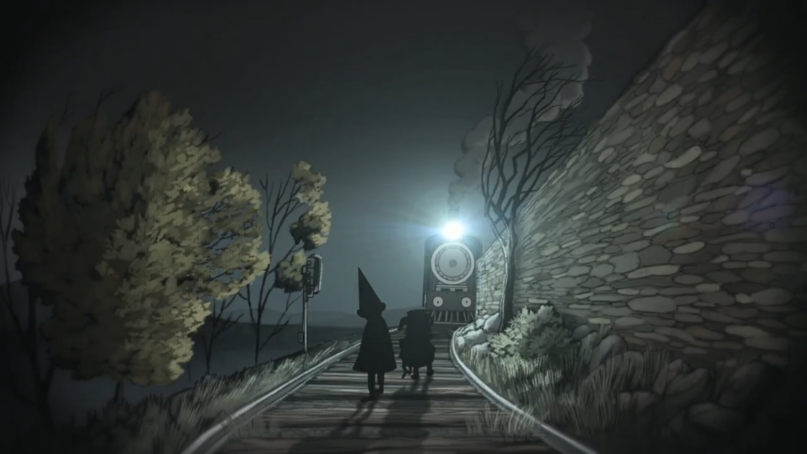 Over the garden wall wallpaper wallpapersafari Wallpapers for the wall