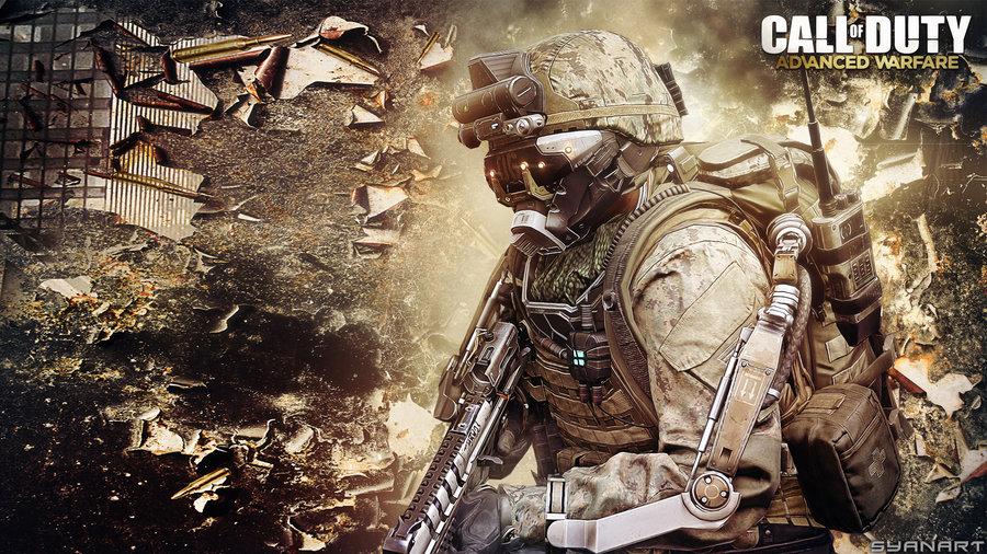 Call of Duty Advanced Warfare Wallpaper by TheSyanArt 900x506