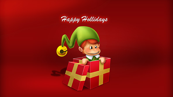 Christmas Elf 592x334