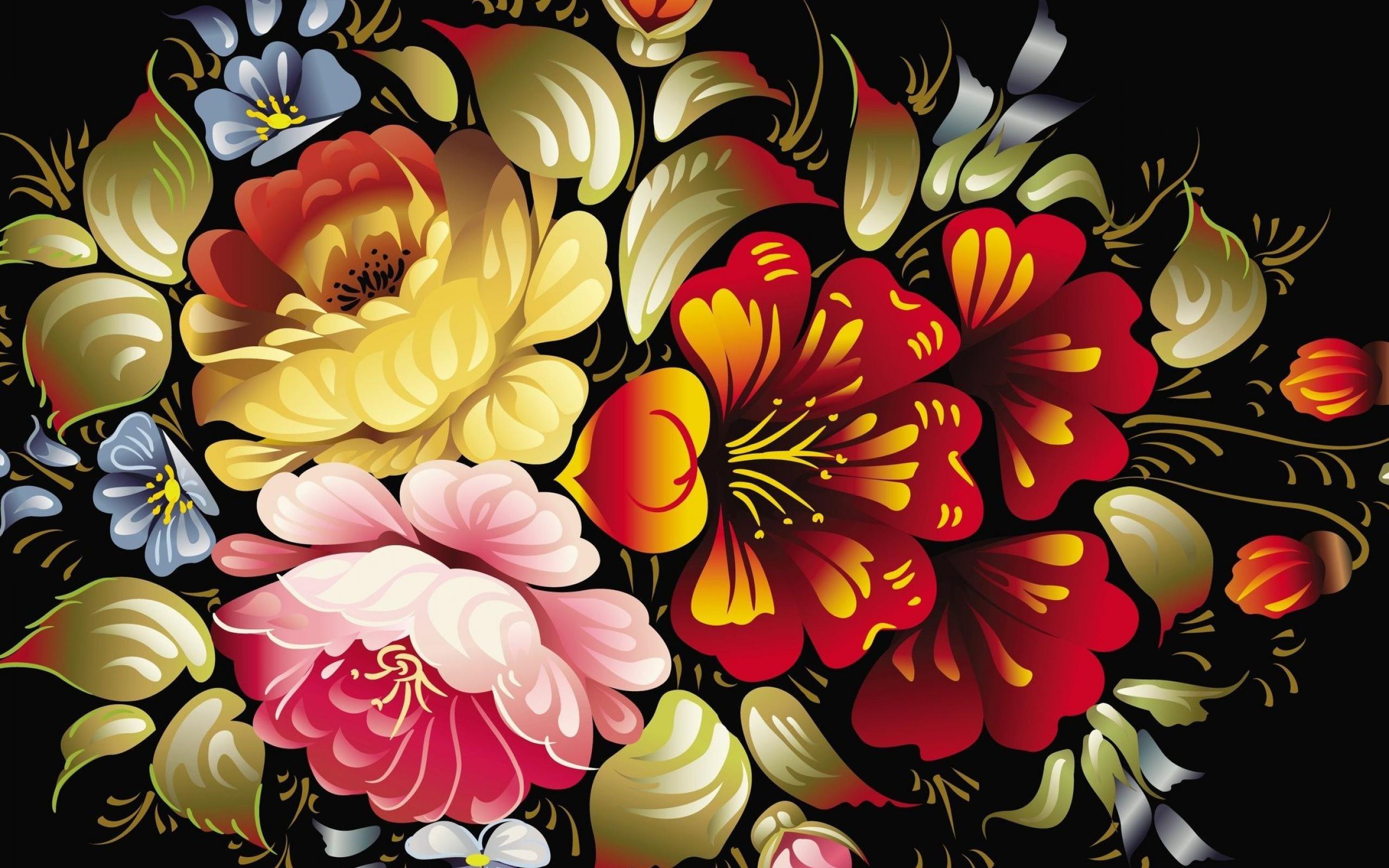 50 Free 3d Colorful Flowers Wallpaper On Wallpapersafari