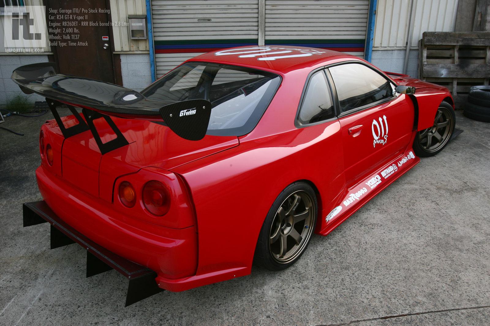 Nissan R34 Skyline GT R   Wallpaper Photo Gallery 1600x1067