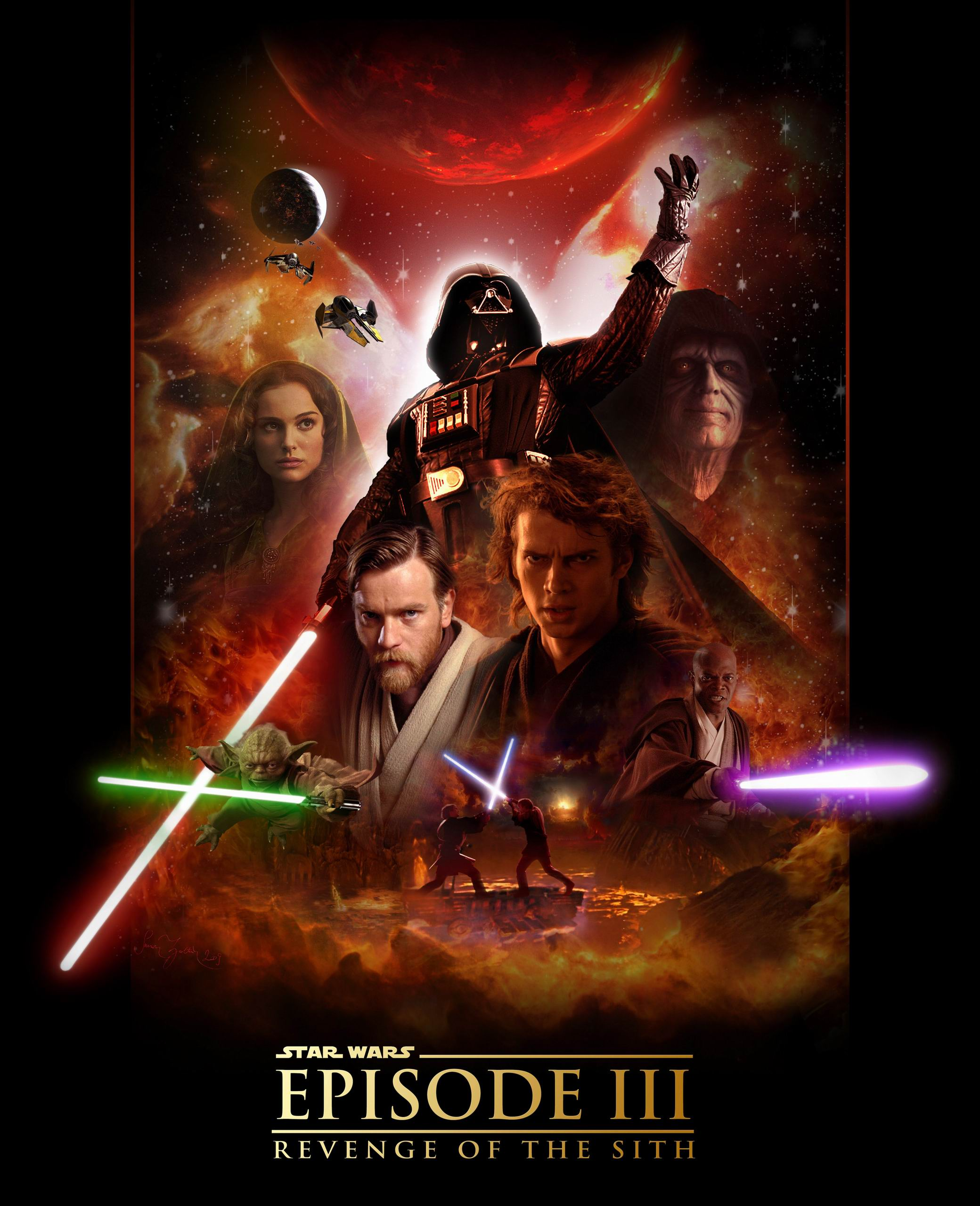 Free Download Star Wars Episode Iii Revenge Of The Sith 2080x2560 For Your Desktop Mobile Tablet Explore 49 Star Wars Movie Poster Wallpaper Star Wars Animated Wallpaper Star Wars