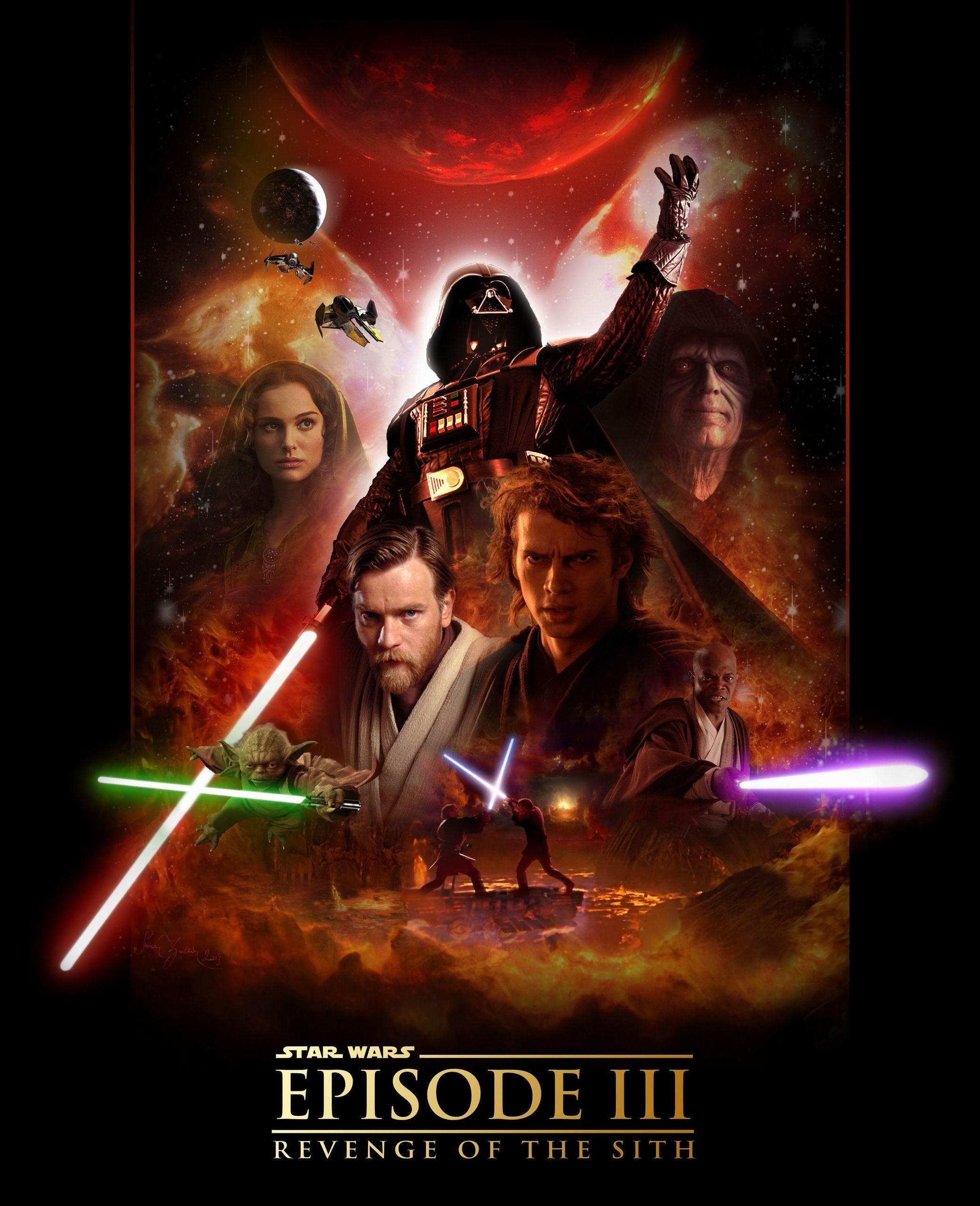 STAR WARS EPISODE III REVENGE OF THE SITH 2080x2560