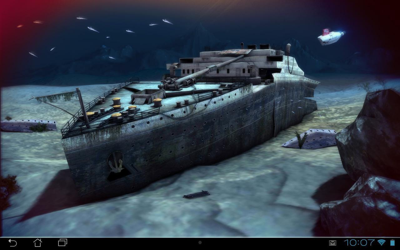 Free Download Titanic 3d Pro Live Wallpaper V10 Apk Future For