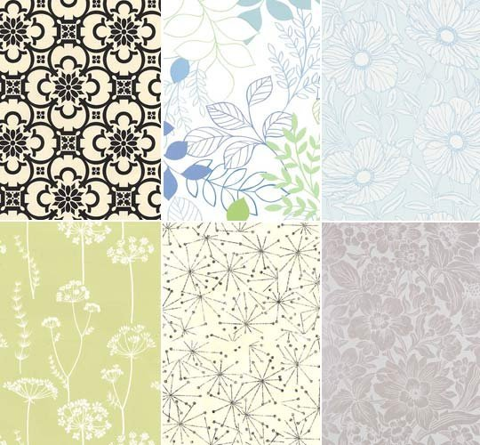Tempaper Removable Paper comes in these great art nouveau patterns and 540x500