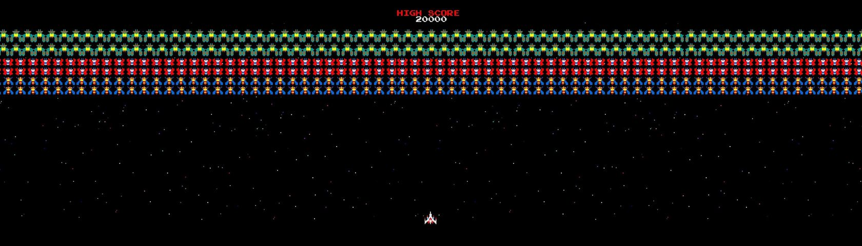 Galaga Extreme Images WallpaperFusion by Binary Fortress Software 1680x480