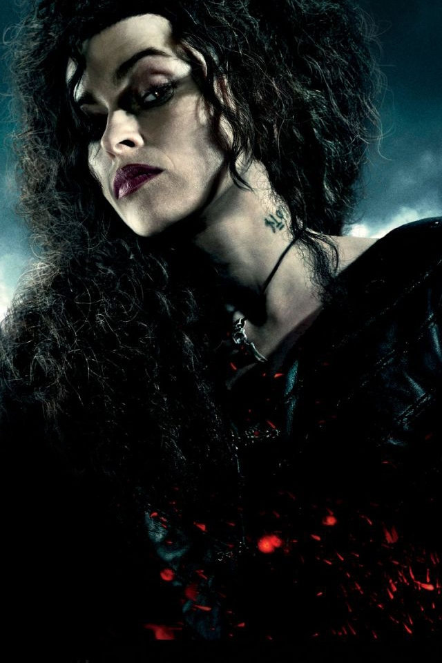 Harry Potter and the Deathly Hallows Bellatrix Le iPhone 4 Wallpaper 640x960